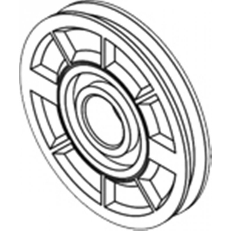 Kapı Halat Tekerleği (Ø44mm)