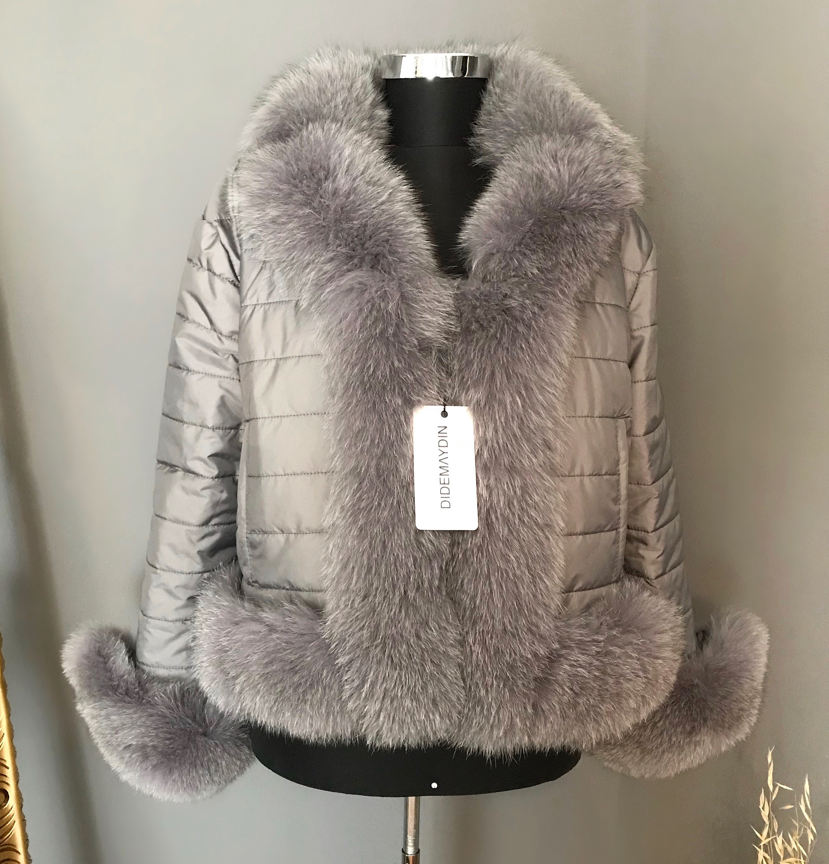 DIDEMΛYDIN Fox Fur Coat
