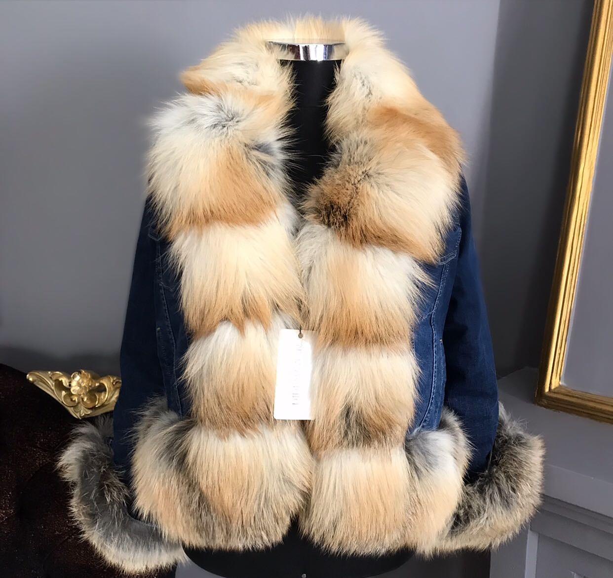 DIDEMΛYDIN Goldfox Fur Coat