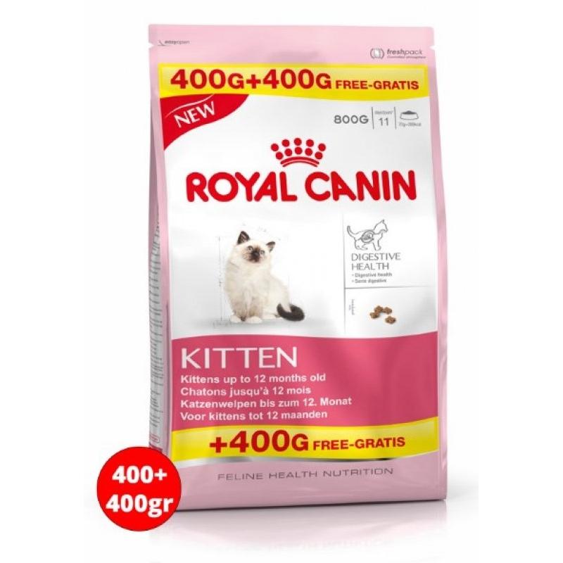 Royal Canin Kitten Yavru Kuru Kedi Maması 400 Gr + 400 Gr