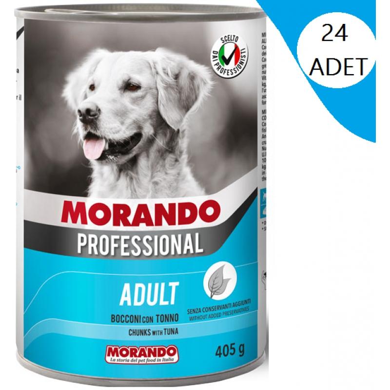 Morando Ton Balıklı Köpek Konserve 405 Gr x 24