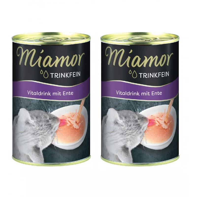 Miamor Ördek Etli Sıvı Desteği Kedi Çorbası 135 Ml x 2 Adet