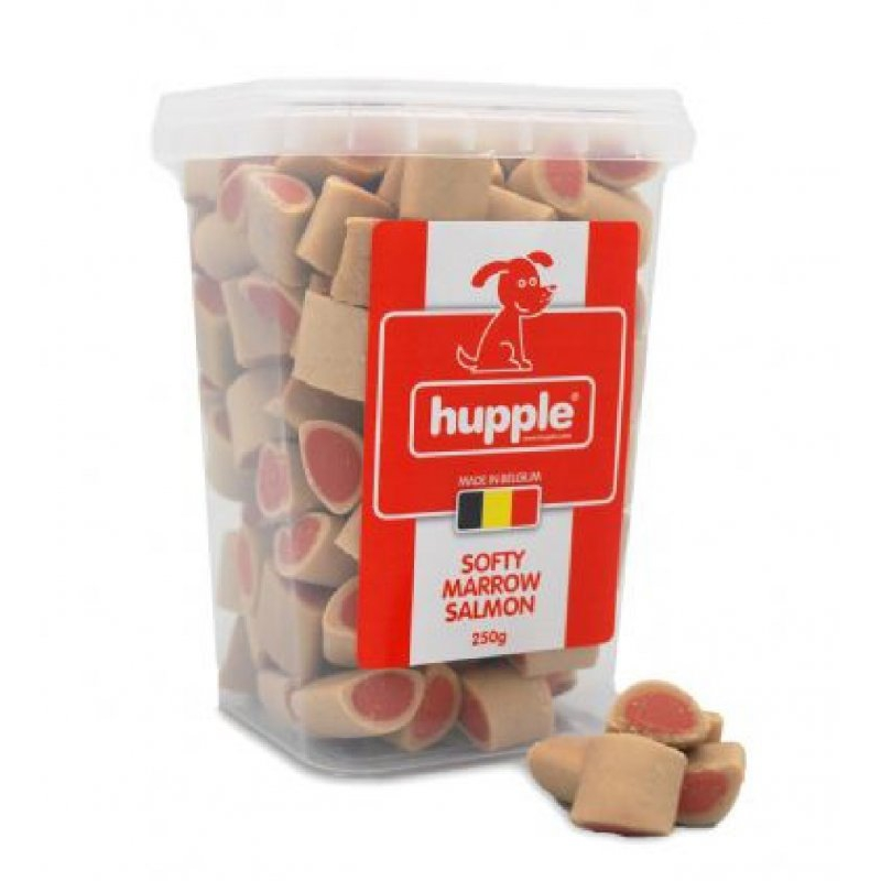 Hupple Softy Marrow Salmon Somonlu & Tavuklu Köpek Ödül Bisküvi 250 Gr