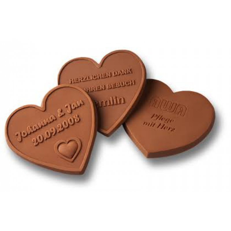 Kalp Üzeri Tarih Çikolata