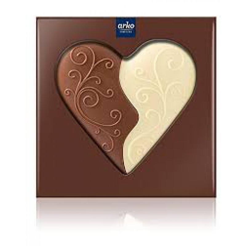 Çift renkli ve aromalı Çikolata